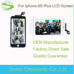 Wholesale Iphone Lcd Original Screen - Original Foxconn LCD for iPhone 6S Plus LCD screen display with touch screen digitizer assembly touch panel