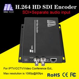 Wholesale Channel Encoder - Signal Channel MPEG-4 HD Video Encoder SDI Input SDI to h.264 IP Encoder 3G HD SD Sdi Video Encoder IPTV Live Stream Broadcast