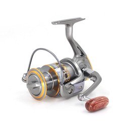 Wholesale Bait Feeder - Free shipping New Technology Trolling Fishing Reels Spinning Reel Baitcasting Coil Reel for Fishing Wheels Boat Carp Feeder