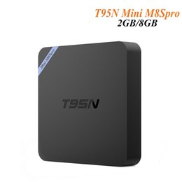 Mini box hd à vendre-Hi-Q T95N Mini M8Spro Android 6.0 TV Box S905X Quad Core 2 Go 8 Go 4K Internet Streaming TV