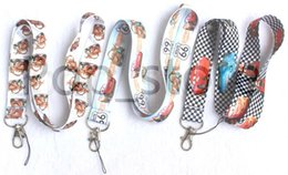 Wholesale Getting Cheaper - This is the racing series mobile phone lanyard keys id neck strraps.The more you buy, the cheaper you get