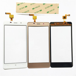 Wholesale Touchscreen Parts - 3 Color Touch Panel For LEAGOO M5 Sensor Touch Screen Digitizer Repair Parts Touchscreen Front Glass Lens