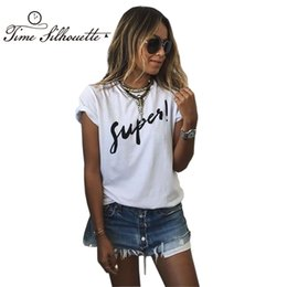 Wholesale Shirt Kiss - Wholesale-2016 New Design Brand Tops Basic Short Sleeve Shirts Female Summer Style Women's T-Shirts Fashion Kiss Letter Print t Shirt TS05