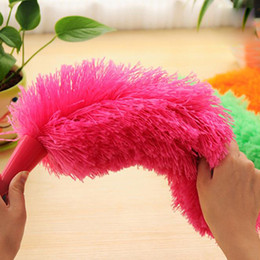 Wholesale pictures blinds - New Soft Microfiber Cleaning Duster Dust Cleaner Handle Feather Static Anti Magic Household Cleaning Tools wholesale