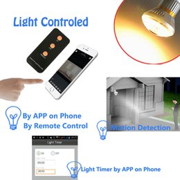 Wholesale Night Vision Lamp - IB-175Y wifi Mini Lamp Light Camera Full HD 720P Stealth Lamp DVR LED Bulb Camera with Infrared Night Vision Optional Home Office Safet AT