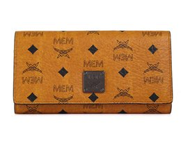 Wholesale Korea Brand Leather Bag - Brand Designer Wallet for Man Women PVC Leather Clutch Bag Printing Pattern Korea Style