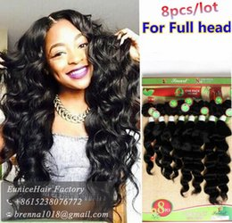 Wholesale Two Toned Human Braiding Hair - Peruvian human virgin hair 8pcs per pack natural two tone red burgundy kinky curly braids hair extension brown hair for black women UK USA
