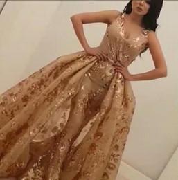 Wholesale Evening Dresses Flower Print - Evening dress Yousef aljasmi Labourjoisie Ball gown Print flower Sweetheart With Trail Michaelcostello Kylie Jenner Zuhair murad