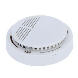 Système de sécurité détecteur de fumée en Ligne-Détecteur de fumée Alarmes Système Capteur Alarme incendie Détaché Détecteurs Sans Fil Sécurité à Domicile Haute Sensibilité Stable LED W 85DB 9V Batterie 50
