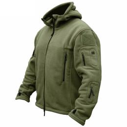 2019 черное кожаное спортивное пальто Зима военная тактическая флисовая куртка мужчины теплый Polartec армии США одежда несколько карманов верхняя одежда повседневная толстовка пальто куртки