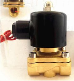 "Wholesale Flange Valve - Free shipping high quality 1-1 4"" Electric Solenoid Valve Water Air Oil N C DC 12V"