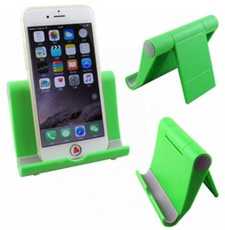 Wholesale Cute Cell Phone Stands - Mobile phone holder stand high quality omnipotent universal cute tablet cell phone stand holder for all type of phone pad iphone 7 holder
