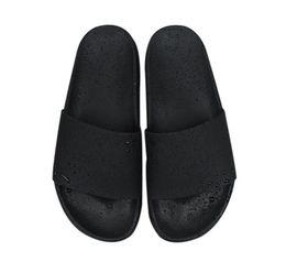 Wholesale Bathroom Pvc - 15SS Men Flats Sandals Non-slip Bathroom Slippers slipper ss sup black red summer house shoes men slippers