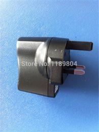 Wholesale E Cig Usb Plug - Wholesale- AU and UK wall charger ego ecig plug adapter travel charger e cig wall usb charger for electronic cigarette