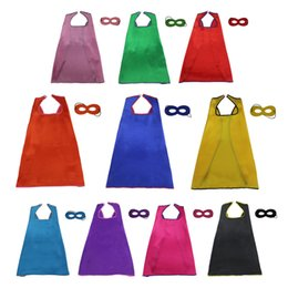 Wholesale Costumes For Pageants - SPECIAL L27* Boys&Girls superhero costume cape for Christmas Home party fancy dress up pageant boy cosplay cape princess costume