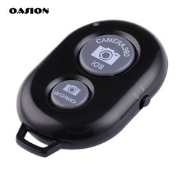 2019 дистанционное управление bluetooth для телефона android Wholesale-Wireless Bluetooth remote control remote Phone self-timer shutter remote control for IOS and android Bluetooth-enabled devices дешево дистанционное управление bluetooth для телефона android