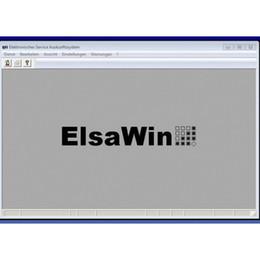 Wholesale Elsa Win - 2017 New Arrival ElsaWin 5.2 work for Audi VW Seat Skoda Auto Repair Software Elsa Win 5.2 Free Shipping