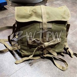 Wholesale Octopus Canvas - WW2 Japanese Army 1940 Bag Backpack Japan Soldier Octopus Canvas Outdoor Pouch