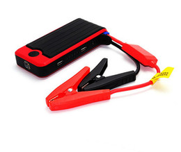 Wholesale Start Vehicles Emergency - 12000mAh Multi-function Car Jump Starter High Power Capacity Portable Emergency Battery Charger Vehicle Starting Car Power bank to3.0L Gas