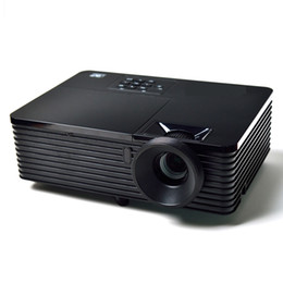 Wholesale Atco Projectors - Wholesale-ATCO 6000ANSI with HDMI USB Video multimedia Daylight Outdoor PC Data Show Rear Full HD 1080P DLP 3D Projector Beamer proyector