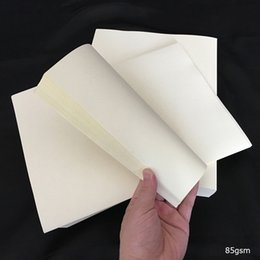 Wholesale Bond Paper Sheets - 1000 sheets bond printinng paper starch free acid free waterproof types with red and blue fber white color (JQ151121)
