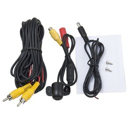 Wholesale Mini Camera Night View - 12V 170° Mini Color CCD Reverse Backup Car Front Rear View Camera Night Vision