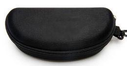 A++жесткий чехол молния крюк солнцезащитные очки Box компрессионные очки Case черный металл пластиковые спортивные солнцезащитные очки case box бесплатная доставка cheap ship sunglasses от Поставщики солнцезащитные очки для корабля