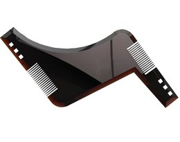Wholesale Hair Cutting Guide Tools - The Ultimate Beard Guide Beard Shaping Tool Sex Man Gentleman Beard Trim Template hair cut molding trim template