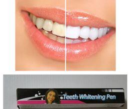 Wholesale Teeth Whitening Pen Gels - 2017 Teeth Whitening Pen--35% Carbamide Peroxide Gel Soft Brush Applicator For Tooth Whitening Dental Care Whitener Gel 2ml
