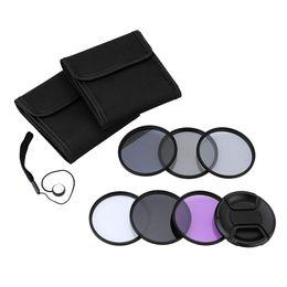 Wholesale Nd2 Nd4 Nd Filter - Andoer 77mm UV+CPL+FLD+ND(ND2 ND4 ND8) Photography Filter Kit Set Ultraviolet Circular-Polarizing Fluorescent Neutral Density Filter D2880