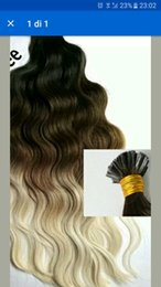 Wholesale Nail Hair Remy - Wholesale- 1g s 150g pack 14''- 24'' 100% Human Hair u Tip Hair Extensions Remy Indian Factory Price body wave nail u Tips Hair dhl free