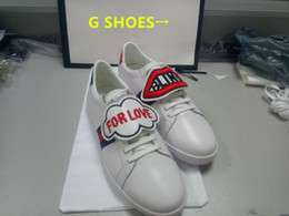 Wholesale Canvas Heads - men's shoes tiger white GG shoes leather tiger head G series home casual board shoes men's tide