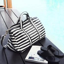 Wholesale Dual Gym - 2017 Ladies Dual Handles Gym Club Grip hand bags womens sports duffle bag tote gym yoga carry designer bags