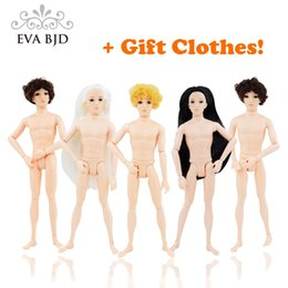 Wholesale Male Fashion Figures - Hot 1 6 BJD Doll Male 30cm Action Figure 14 jointed Dolls boys Toy Doll (No clothes shoes) BJD DB002-01