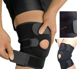 Wholesale Neoprene Knee - Adjustable Strap Elastic Patella Sports Support Brace Black Neoprene Knee