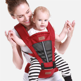 Wholesale Baby B Bag - Multi-function breathable baby strap lap summer summer breathable newborn baby bag shoulder holding stool, detachable strap style B