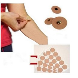 Wholesale Plaster Patches - 50 Pcs lot Magnetic Plaster Patch Pain Relief Acupuncture Massage Muscle Relax Magnet Stickers Medicine Tape Body Health Care