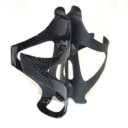 Wholesale Road Bike Carbon Accessories - Carbon Water Bottle Cage Bicycle Bottle Holder MTB Road 3K Carbon fiber Bottles Cages Bike Bottles Holder cycling accessories