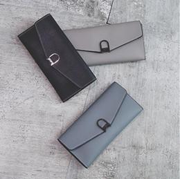 Wholesale Standard Dress China - New Arrival Women Wallets Leather Lady Purse Fashion Handbag Vintage Slim Clutch bag China Free Shipping
