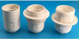 morsetto e27 Sconti Commercio all'ingrosso 110 V / 220 V E27 Vite di qualità Dente pieno / Supporti della lampada del dente metà Basi della lampada Prese di lampada Accessori di illuminazione Ricambi