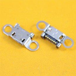 Wholesale Mini Jack Socket - 20pcs For Samsung edge S6 edge+plus charging dock micro mini USB port jack socket connector G920 G920F G920V G925 G925F G928
