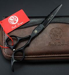 Canada cheveux ciseaux 6 INCH noir rouge blanc violet coupe ou éclaircie emballage simple 1 PCS / LOT livraison gratuite NOUVEAU Offre