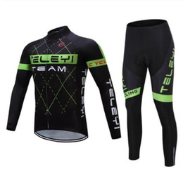 Wholesale Bike Ice - 2017 Pro Team Winter Autumn Cycling Jersey sets Breathable Bike Clothing Maillot roupas de ciclismo Men Women Sport uniforme