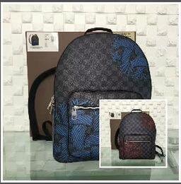 Wholesale Medium Backpacks For Men - 2017 Hot Designer Backpack Fashion top quality Backpacks for Man Women Shoulder Bag Students School Bag N41712