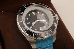 Wholesale Mechanical Chronograph Skeleton Watch - Skeleton designer watches military watch fashion watches Mans mechinal watch 51mm size Ceramic bezel sapphire glass watch