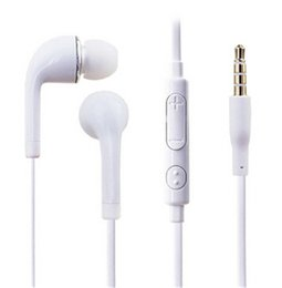 Wholesale s4 hand - J5 Headphones for S4 S6 S7 3.5mm In ear earphones earbuds J5 headset Hands-free earphone with Mic control For Samsung S5 S6