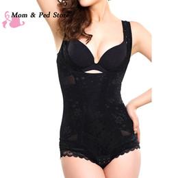 56a3a1327a 2019 full body corset Atacado-Mulheres Shaper Do Corpo Trainer Cintura  Emagrecimento Underwear Corpo Inteiro