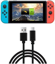 USB Ladekabel für Nintendo Switch Tpye A bis C (3.3ft 1.5m) schwarz von Fabrikanten