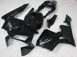firewall de carenagens Desconto Carenagens de Plastico Fireblade 04 Kits Integrais CBR 1000 RR 2004 Carroceria Negra CBR1000RR 05 2004 - 2005