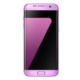 Wholesale Real Card 32gb - 1:1 Goophone S7 edge curved screen Quad core MTK6580 real 1gb 8gb show fake 1gb 32gb unlocked mental phone